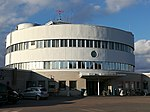 Malmi Airport main building, September 2019.jpg