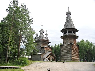Pomors - Malye Korely, a 17th-century Pomor village, 28 km east of Arkhangelsk
