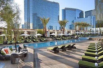 Waldorf Astoria Las Vegas - The hotel's pool area