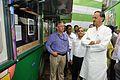 Manish Gupta with NCSM Dignitaries Visit Mobile Science Exhibition - Inaugural Function - MSE Golden Jubilee Celebration - Science City - Kolkata 2015-11-17 4915.JPG