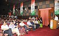 """Manish Tewari addressing at the release of an audio visual glimpse of """"The India Story"""" 10th year of Reaching People-Changing Lives, in New Delhi. The Secretary, Ministry of Information and Broadcasting.jpg"""