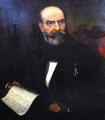 Nikolaos Mantzaros; his most popular composition remains the musical setting for Hymn to Liberty. The first and second stanzas were adopted in 1865 as the national anthem Mantzaros.jpg