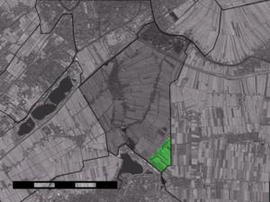 Gelderswoude - Image: Map NL Zoeterwoude Gelderswoude