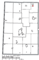 Map of Darke County Ohio Highlighting Yorkshire Village.png