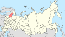 Map of Russia - Republic of Karelia (2008-03).svg