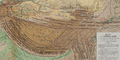 Map of Tibet in 1876 from Map of Central Asia with trade routes and movements, von Richthofen (cropped).png