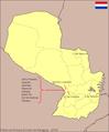 Mapa fútbol paraguayo 1ra A 2009.PNG