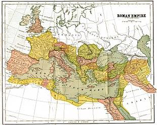 Römisches Reich Karte.Römisches Reich Wikipedia