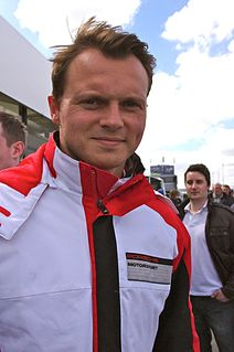 racing driver, 2012-2016 World Endurance Championship driver, 2003-2015 24 Hours of Le Mans driver