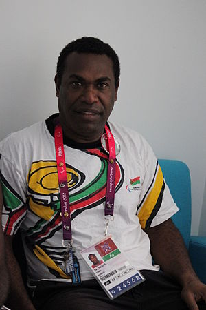 Vanuatu at the 2012 Summer Paralympics - Marcel's coach in London