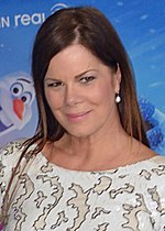Photo of Marcia Gay Harden attending the premiere of the 2013 film Frozen.