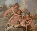 Marco Liberi - The Three Graces Holding Cupid in the Clouds.jpg