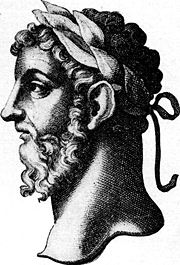 Marcus Aurelius depicted in The Thoughts of Marcus Aurelius Antoninus, as translated by George Long