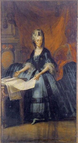 Buchau Abbey - Maria Carolina von Königsegg-Rothenfels, Princess-abbess of Buchau (1742-1774)