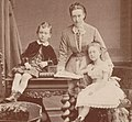 Maria Maximilianova with her children.jpg