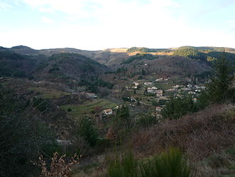 Accons - A view towards Mariac from Accons