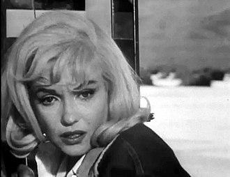 The Misfits (film) - Monroe in The Misfits