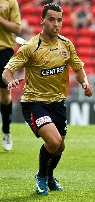 Marko Jesic - Jesic playing for the Newcastle Jets