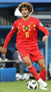 Marouane Fellaini Belgian footballer