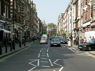 Marylebone - Image: Marylebone High Street geograph.org.uk 418894