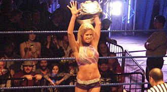 Maryse Ouellet - Maryse as Divas Champion in 2009