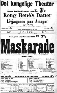 Opera by Carl Nielsen