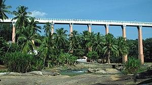 Aqueduct (bridge) - Mathur Aqueduct, India