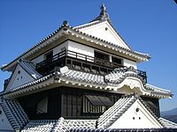 Matsuyama Castle Tower(Iyo) JAPAN.JPG