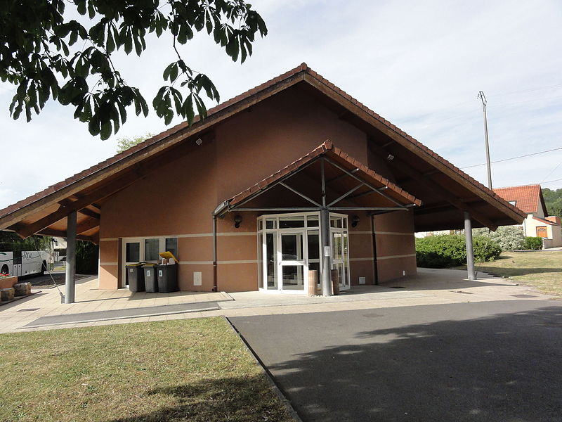 Mauregny-en-Haye (Aisne) salle des fêtes