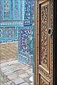 Mausolée de Chirin Bika Aka (Shah-i-Zinda, Samarcande) (6011740359).jpg