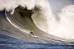 Wind wave - Image: Mavericks Surf Contest 2010b