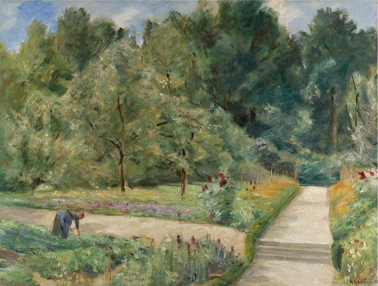 Картинки по запросу max liebermann kunstdruck: der nutzgarten in wannsee nach westen kunstkopie.de e.k.