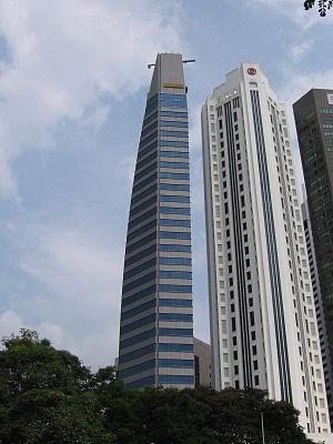 Maybank Tower (Singapore) - Image: Maybank Tower, Aug 06