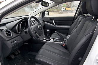 Mazda CX-7 - Interior (facelift)