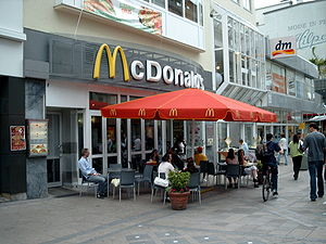 McDonalds Store in Dortmund, Germany