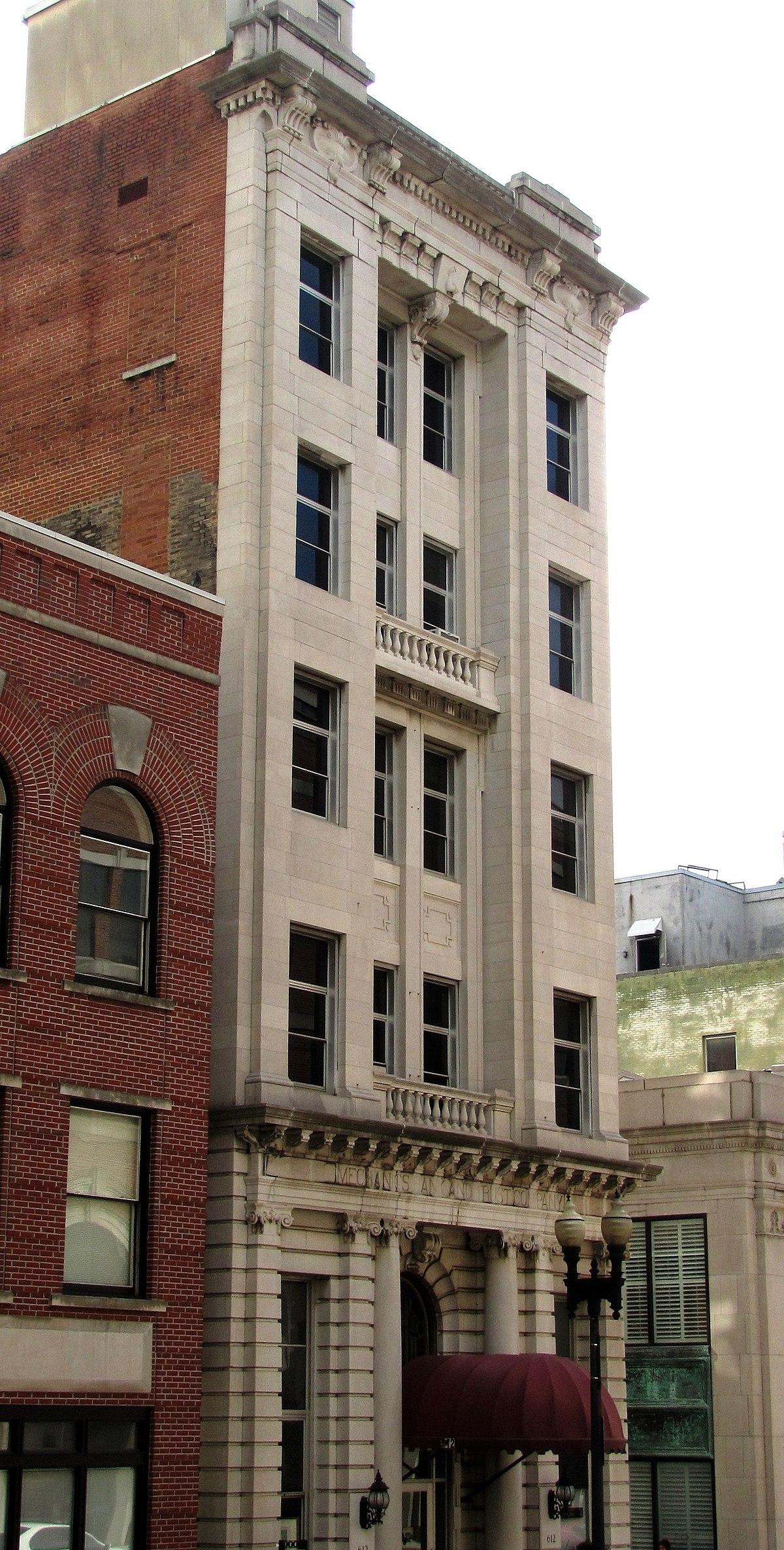 Mechanics Bank And Trust Company Building Wikipedia