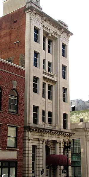 Mechanics' Bank and Trust Company Building - Gay Street facade
