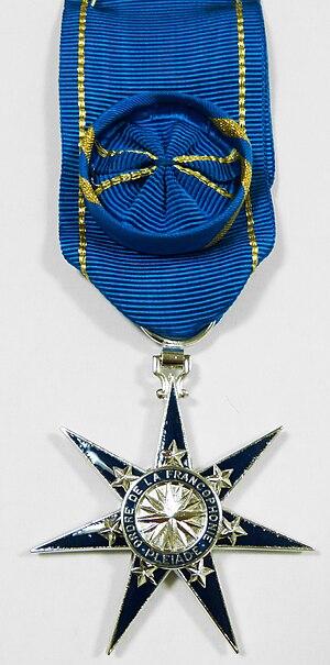 Order of La Pléiade - Image: Medaille pléiade