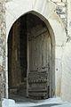 Medieval gate with wooden door, Kastro, Naxos Town, 110141.jpg