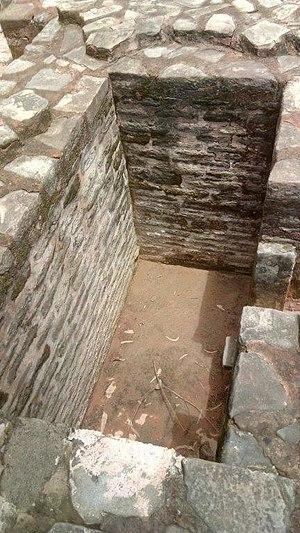 Adi Badri, Haryana - Meditation cell at Adi Badri