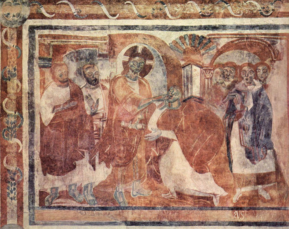 Decorazione Delle Pareti Opere Darte : Pittura carolingia wikiversità