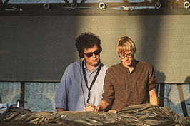 Simian Mobile Disco in 2013.