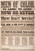 Men of Color Civil War Recruitment Broadside 1863.png
