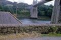 Menai Suspension Bridge from Beach Road - geograph.org.uk - 1606559.jpg