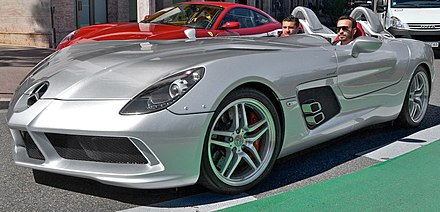 Stirling Moss Mercedes