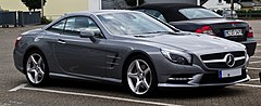 '12 Mercedes-Benz SL500