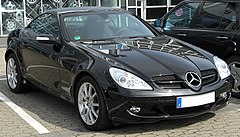 Mercedes-Benz SLK II przed liftingiem