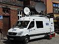 Mercedes Sprinter - outside broadcasting van of Telewizja Polska in Gdańsk.JPG