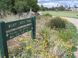 Merri Creek Trail - sign and path.JPG