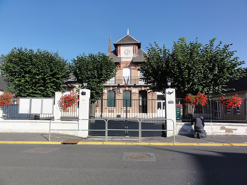 Mesnil-Saint-Laurent (Aisne) mairie